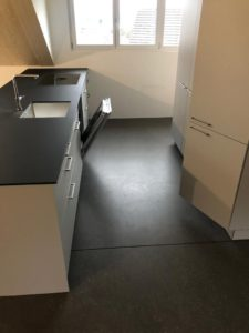Decorbelag im Küchenbereich